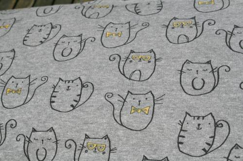 Mr. cat, tricot, 13,95 euro per meter